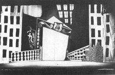 Pablo Picasso, set design for Parade, 1917
