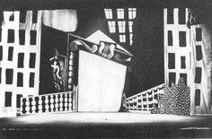 Pablo Picasso, set design for Parade, 1917