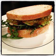 Madame Laurien: Fusion Chicken Sandwich