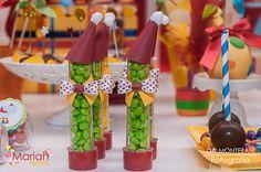 Tubetes personalizados tema circo | Festa infantil by Mariah festas #circo #tubetecirco #tubete
