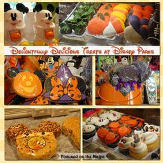 Spooktacular Halloween Treats at Disney Parks