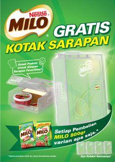 MILO Breakfast Box POSM