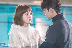 Image about boy in lee sung kyung by Veronica Weightlifting Fairy Kim Bok Joo Quotes, Weightlifting Fairy Kim Bok Joo Wallpapers, Weightlifting Kim Bok Joo, Swag Couples, Cute Couples, Weightlifting Fairy Wallpaper, Weighlifting Fairy Kim Bok Joo, Nam Joo Hyuk Lee Sung Kyung, Joon Hyung