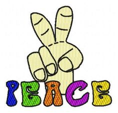 how to make peace fingers on facebook