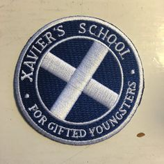 Pin for Later: Your New Jacket Is Crying Out For 1 of These Pop Culture Patches X-Men Jenni's Prints Xavier's School Iron-On Patch (£6)