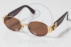 Image of Gianni Versace Mod.S71 brown  :: Vintage Sunglasses
