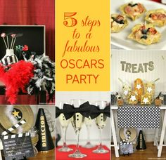 5 great ideas for designing an awards viewing party