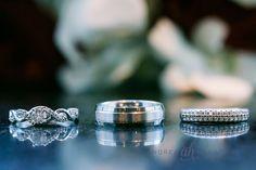 Vintage wedding rings   Fort Lauderdale wedding photographer   Andrea Harborne Photography