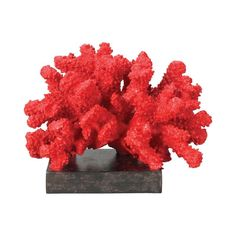 Sterling Industries 60-1540 Sterling Fire Island Coral Display Statue Coral Home Decor Accents Statues & Figurines