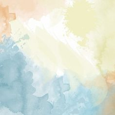Watercolor texture with soft tones