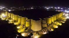 Beautiful view of Historical Derawar Fort located in Cholistan Desert of Bahawalpur Punjab, Pakistan. https://www.gopakistan.no  #DerawarFort #Cholistan #Bahawalpur #Pakistan