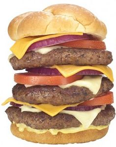 Diner suffers cardiac arrest while eating a Triple Bypass Burger in restaurant called the Heart Attack Grill    Read more: http://www.dailymail.co.uk/news/article-2101399/Heart-Attack-Grill-customer-Las-Vegas-suffers-cardiac-arrest-eating-Triple-Bypass-Burger.html#ixzz1mUh6u8tC