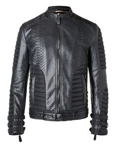 "PHILIPP PLEIN Leather Jacket ""Smash"". #philippplein #cloth #"