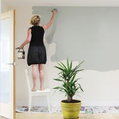 Painting a ceiling flat white for example. For more: redonline.co.uk