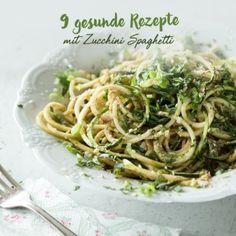 Pasta ganz leicht! Zoodle-Erdnuss-Salat