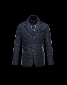 Moncler Herren Anorak, jacken Moncler Herren ARGENTRE Anorak Blau Polyester/Polyamid sale deutschland