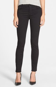 Free shipping and returns on J Brand '811' Mid Rise Skinny Jeans (Black) (Nordstrom Exclusive) at Nordstrom.com. A skinny fit from hip to ankle create a long, universally flattering line for these mid-rise ankle jeans, while a dark black wash enhances the slimming effect.