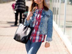 Kurtki jeansowe na wiosnę, denim, jeansowy total look