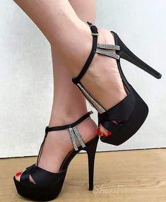 love Shoespie Sexy Peep-Toe  Platform/Stiletto Heel Sandals