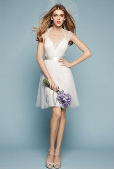Short Wedding Dresses With Classic Style - Encore by Watters
