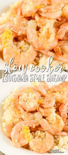 Slow Cooker Louisiana Style Shrimp is perfect for an appetizer or great for a main dish served over rice for a treat at family dinner. dinner slow cooker Slow Cooker Louisiana Style Shrimp - Recipes That Crock! Crock Pot Food, Crock Pot Slow Cooker, Slow Cooker Recipes, Crockpot Recipes, Cooking Recipes, Slow Cooking, Crockpot Dishes, Freezer Cooking, Cooking Food