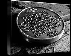 "Patek Philippe Geneve Commemorative Medal Coin $93 // Style: Soft Edge Canvas Print; Size: Medium 16"" x 24"" // Visit http://www.imagekind.com/Patek-Philippe-Geneve-PPG_art?IMID=1fe1ec7e-93d8-472f-9c07-717a29cadb82 for product details."