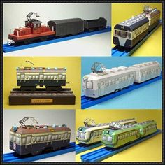 Ueda City Train Paper Models Free Templates Download