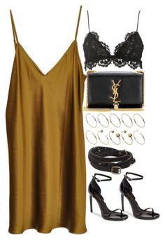 """Untitled #9415"" by nikka-phillips ❤ liked on Polyvore featuring ASOS Curve, Yves Saint Laurent, Isabel Marant, Vionnet and Forever 21"