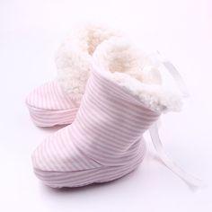 stripe pink / Winter Baby Boys Girls Cotton Shoes Plush Warm Shoes First Walkers Boots For Months Walker Boots, Winter Baby Boy, First Walkers, Baby Shop, Military Fashion, Girls Shoes, Girl Fashion, Fashion Women, Boy Or Girl