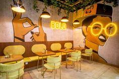 The Bowl One | Designsmith Interiors | Media - Photos and Videos | Archello Restaurant Interior Design, Interior Design Companies, Luxury Interior Design, Deco Restaurant, Restaurant Concept, Coffee Shop Design, Cafe Design, Shop Interiors, Commercial Design