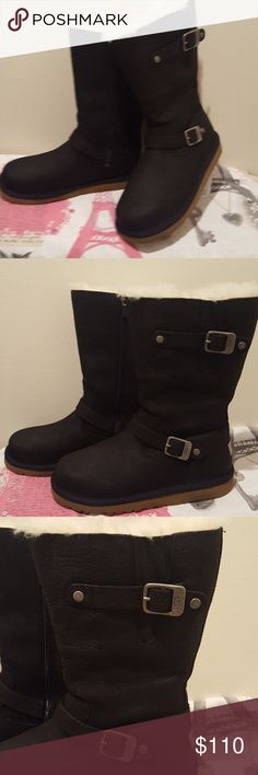 NWOB UGG australia SUTTER boots w/fur inside New without box UGG australia boots Size 5  Bundle and save 🤗 UGG Shoes Winter & Rain Boots