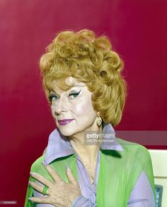 BEWITCHED - Agnes Moorehead Gallery - March 20, 1969. (Photo by ABC Photo Archives/ABC via Getty Images)AGNES