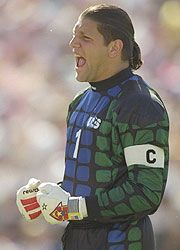 Tony Meola, USA... had the biggest crush on him during the 1994 World Cup!