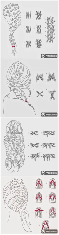 DIY Braid Tutorials.