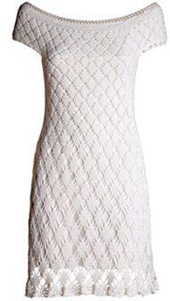 Vestido de festa de crochê - Moda, Beleza, Estilo, Customizaçao e Receitas - Manequim - Editora Abril - Fotos: Carlos Bessa