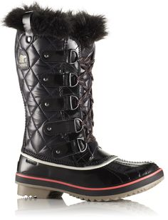 Sorel Tofino Quilted Nylon Women's Snow Boots - Discontinued Color