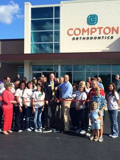 Our ribbon cutting was on Thursday, September 10, 2015! We appreciate all of the support from the Bowling Green Chamber of Commerce and our community! #bgbraces #ComptonOrtho www.bgbraces.com Dr. Thomas Compton, 315 New Towne Drive, Bowling Green, KY 42103 Compton Orthodontics