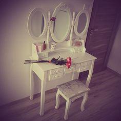 Vanity, Mirror, Vintage, Furniture, Home Decor, Vanity Area, Homemade Home Decor, Lowboy, Dressing Tables