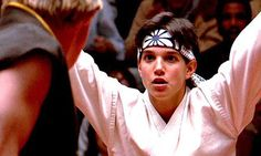 Ralph Macchio as Daniel LaRusso. The Karate Kid - I had the biggest crush on Ralph Macchio The Karate Kid 1984, Karate Kid Movie, Karate Kid Cobra Kai, Ralph Macchio, 80s Movies, Great Movies, Movie Tv, Childhood Movies, Movie Club