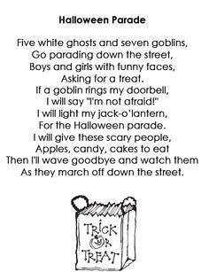 free poems for october - Good Halloween Poems