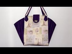 Bolsa/sacola Loren - Bolsa/sacola em tecidos - Maria Adna Ateliê - Aula de bolsa/sacola - YouTube