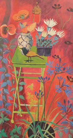 Indoor Summer Garden by Jenny Wheatley