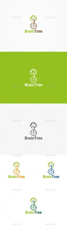 Buy Brain Tree Logo by NatalieGrace on GraphicRiver. Brain Tree Logo Template Vector CMYK Colors Eps,AI Font in help file. E Design, Logo Design, Graphic Design, Plant Logos, Planting For Kids, Brain Logo, Human Icon, Tree Icon, Tree Logos