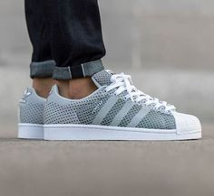 adidas superstar primeknit women Grey
