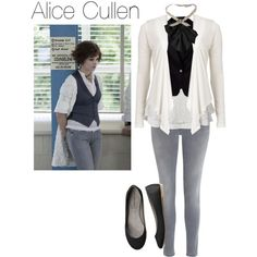 Such a cute, smart, elegant and yet oh so feminine outfit, Alice Cullen, whether you like Twilight or not, has a really good fashion taste