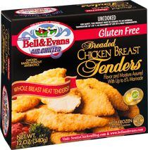 """Hands down BEST breaded chicken:  ya, I'm totally a """"chicken nuggets"""" mom but now I feel better about it:  Frozen Gluten Free Entrees & Snacks 
