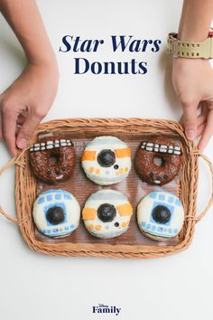 From BB-8 to Chewbacca, everyone has a favorite Star Wars character. Bring these lovable creatures into your home with this delectable recipe for Star Wars Donuts. Click for the Star Wars recipe.