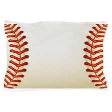 Oh my gurd i want this. Baseball pillow case