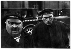 .Taxi Drivers, Berlin, 1931 - Photo HCB