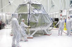 Orion Crew Module Reaches Milestone in Processing for First Test Flight with NASA's Space Launch System